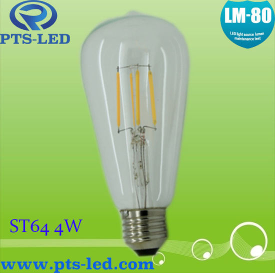 St64 4W Dimmable Filament Bulb pictures & photos