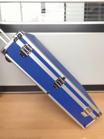 Aluminum Tool Case with Moving Handle for Dispiay (KeLi-YQ70)