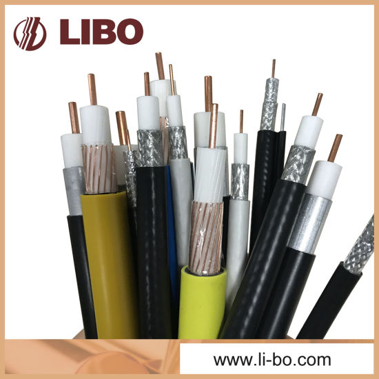 Rg8 Coaxial Cable of Low Loss 50 Ohm Cable pictures & photos