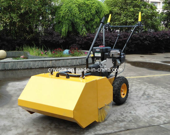 "31"" Walk Behind Sweeper Self Propelled Power Brush Broom pictures & photos"