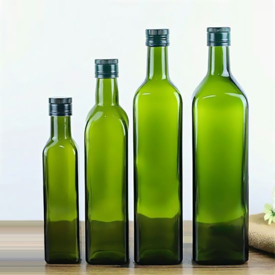 SGS Certificated Various Specifications Olive Oil Glass Bottle pictures & photos