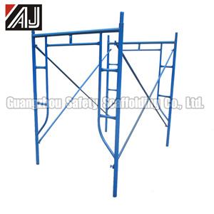 Q235 Steel Scaffolding Frame, Guangzhou Factory