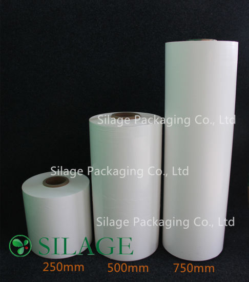 UV Resistant 500mm Blown Round Bale Wrapping Film Silage Wrap pictures & photos