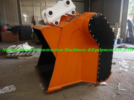 Sf Excavator Attachment Concrete Crusher Bucket Fit for 20t Machinery pictures & photos