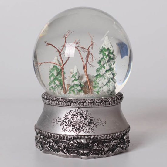 Cheap High Quality Unique Custom Made Resin Cheap Christmas Decor Water Snow Globes for Sale
