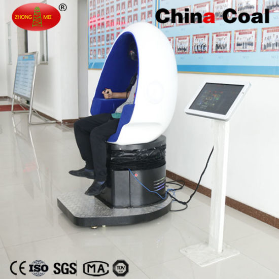 Attractive Virtual Reality 9d Cinema Simulator Motion Egg Seats pictures & photos