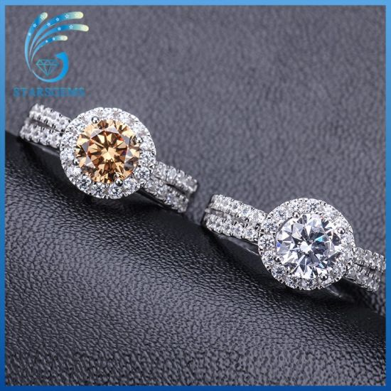 Creative Fashion Style Wedding Band White Cubic Zirconia Steling Silver Ring pictures & photos