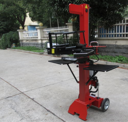 Vertical Wood Splitter Woodworking Machine