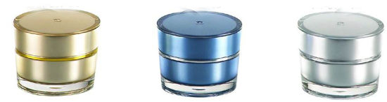 3G Acrylic Small Cream Jar for Cosmetic Packaging pictures & photos