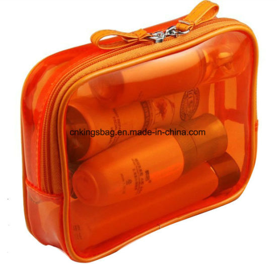 Transparent PVC Promotion Gift Cosmetic Bag pictures & photos