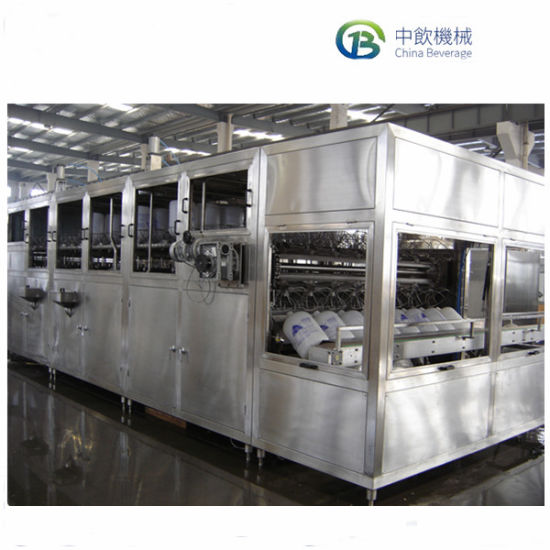 5 Gallon Barrel Automatic Filling Plant, Pure Mineral Water Bottle Packing Line