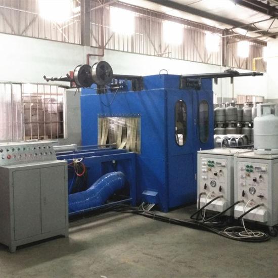 High Standard Zinc Metalizing Line for LPG Cylinder Production Line