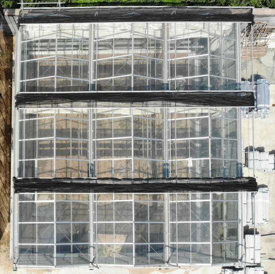 Greenhouse Roofs with Plastic Polycarbonate Sheet