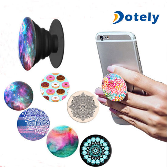 Pop Expanding Phone Holder Stand For Mobile Phone