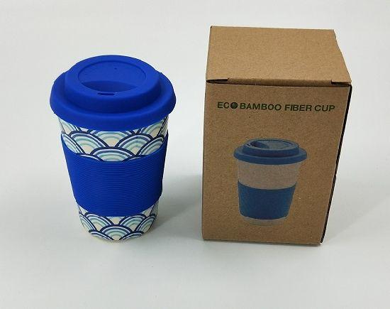 Printed Bamboo Fiber Coffee Cup/ Mug with Eco-Friendly (YK-BC4204)