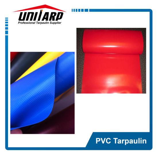 Popluar Asian 500d 18*17 Blue PVC Laminated Tarpaulin