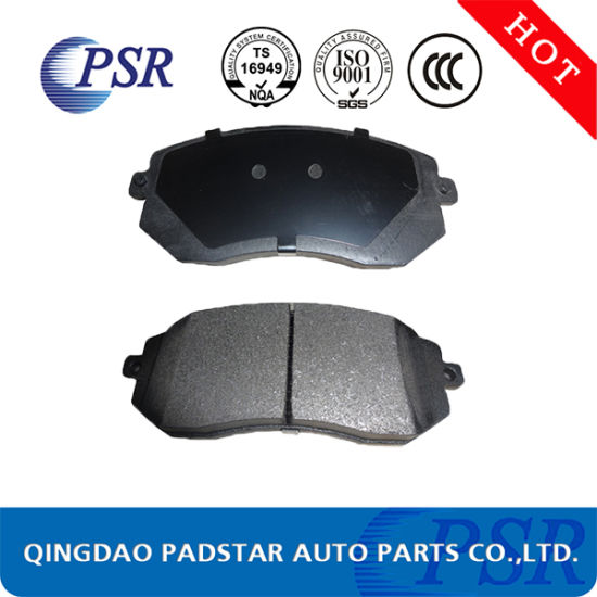 China Hot Sale Car Parts Passanger Car Brakepads For Nissan Toyota