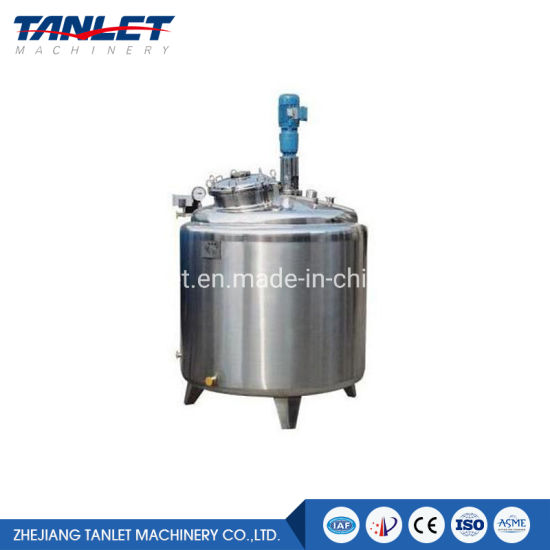 Stainless Steel 304/316L Pharmaceutical Preparation Tank Manufactured by 22 Years Experience Manufacture