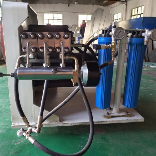 China Waterjet Direct Drive Pump for Waterjet Cutting Machine