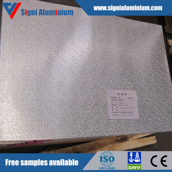 Coloured Stucco Embossed Aluminum Foil for Air Conditioning Duct