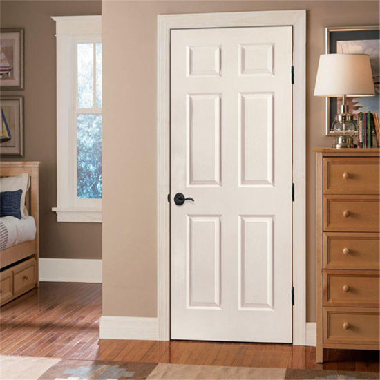 Incroyable Prima 6 Panel Cheap Interior Doors White Primer Bathroom Wooden Door