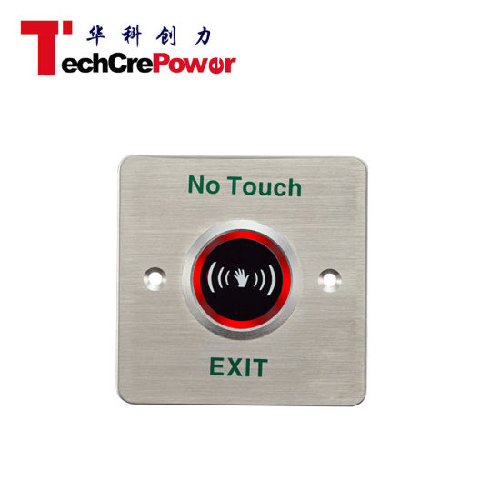 EL-806D LED Indication Infrared Sensor Switch No Touch Contactless Door Release Exit Button pictures & photos