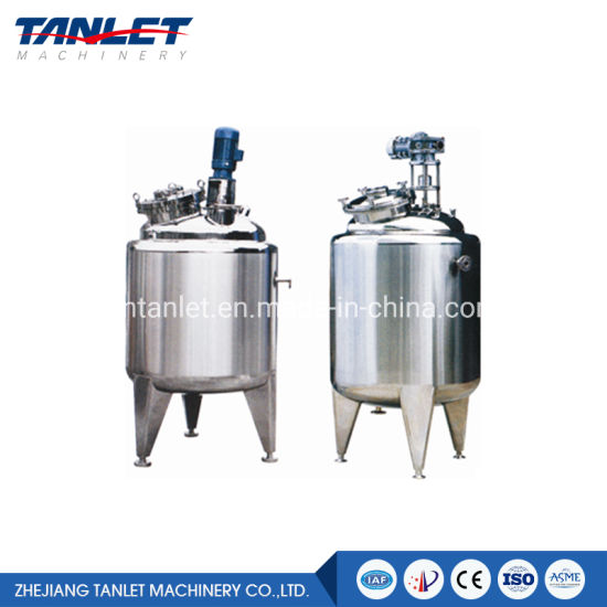 Aseptic Tank Pharmaceutical Stainless Steel Tank Solution Preparation Tank