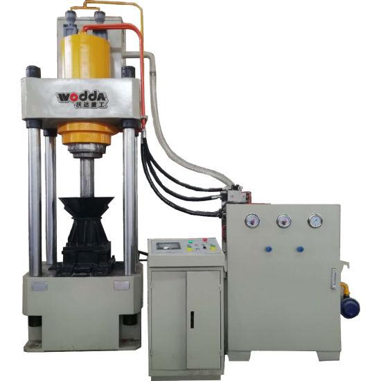 Pressure of Aluminum Blocks Two Beam Four Column Hydraulic Press