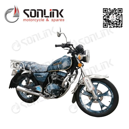 150cc/200cc Gn Model Racing/Street/Moped Dirt Bike Motorcycle (SL200-8C)