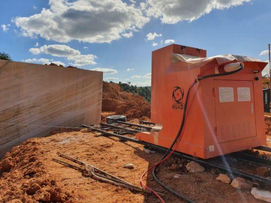 Huada Diamond Wire Saw Machine for Stone Quarry