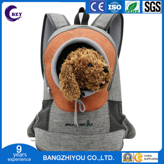 Environmental Cationic Pet Chest Exposed Portable and Breathable Cat Backpack pictures & photos