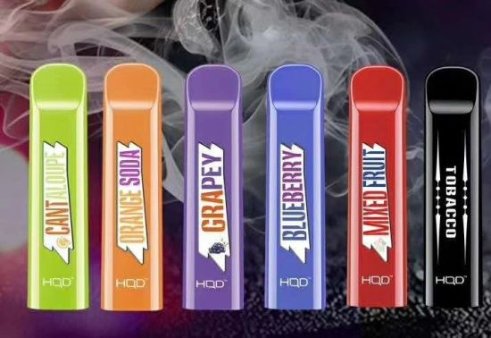 Original New Hqd Cuvie Disposable E Cig with 25 Fruit Flavors