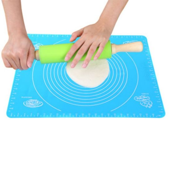 Custom BPA Free Extra Large Cookie Grill Silicone Baking Mat