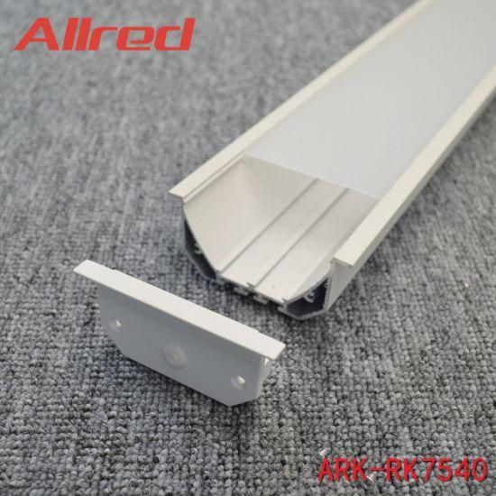 600 Lamp Case 900 Light Housing 1200 LED Body 1500/1800mm LED Linear Profile Aluminium Body LED Housing Light Shell Lamp Case