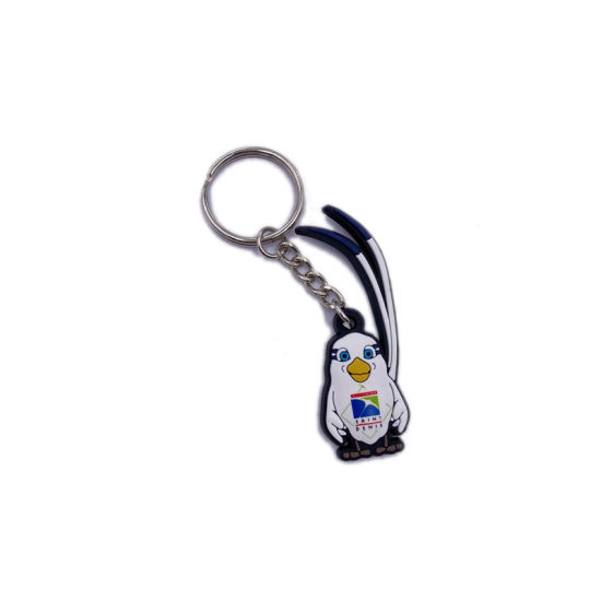 Cheap Promotion Soft PVC Bird Keychain