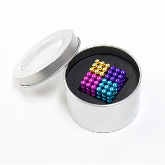 Cheap Factory Neodymium Color Magnetic Mini Magnetic Balls 5mm