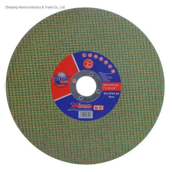 Economic Standard Abrasive Cutting Disc Cutting Wheel 180mm