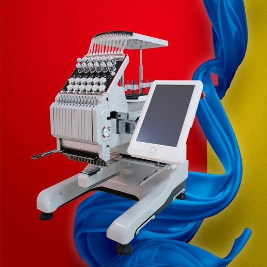 Hot Sale Computerized Embroidery Machine and Number Flat Embroidery Sewing Machine