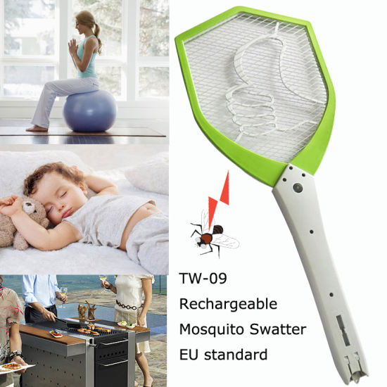 Rechargeable Electronic Electric Fly Swatter pictures & photos