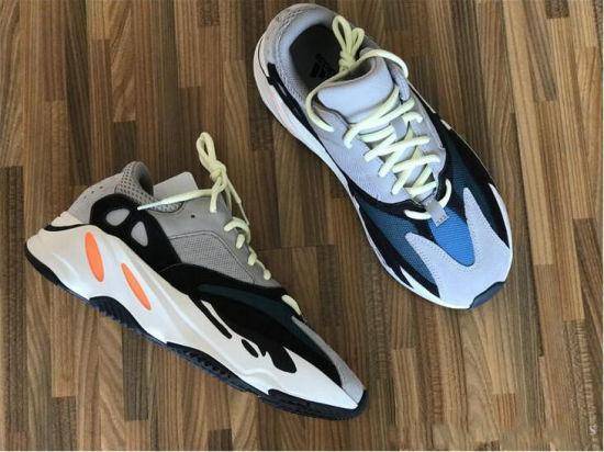 huge selection of 02dec f79b8 2019 Mauve 700 Wave Runner Mens Women Designer Sneakers New 700 V2 Static  Best Quality Kanye West Sport Shoes with Box 5-11.5