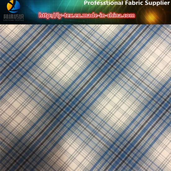 Nylon Yarn Dyed Check Fabric, Nylon Spandex Fabric pictures & photos