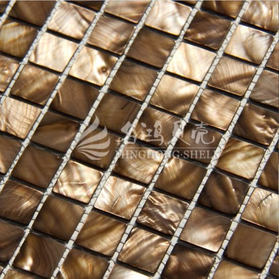 Luxury Jewelry Shell Mosaic Building Material pictures & photos