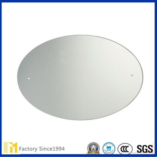 2mm 6mm Silver Coated Float Glass Oval Mirror With Polished Edge For Bathroom Mirror Or Decorative Wall Mirrors China Bedroom Mirror Unframed Mirrors Made In China Com