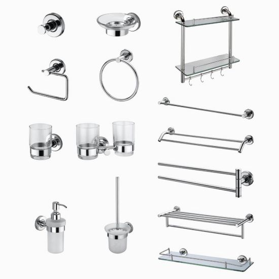Hot Seller Wall Mounted SUS304 Stainless Steel Bathroom Accessories (1100)