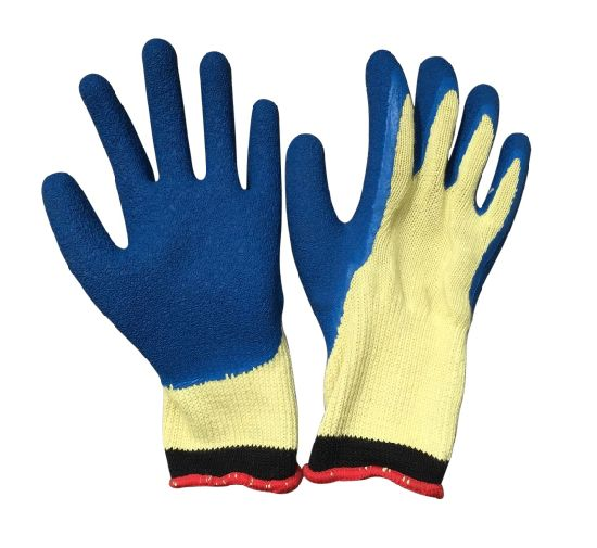 Heat Resistant PU Coated Cut Resistant Work Glove pictures & photos