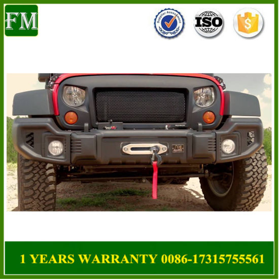 Front Steel Spartacus Bumper Bar for Jeep Wrangler 2007-2017 Accessories