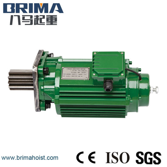 0.4kw High Performance Electric Crane Geared Motor Without Buffer (BM-050) pictures & photos