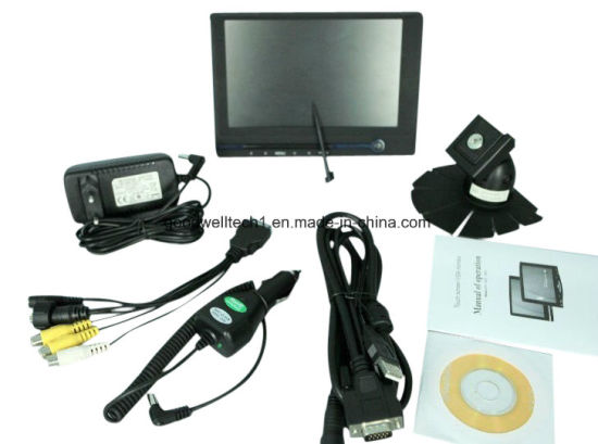 "16: 9 7""LCD Touch Monitor with VGA, HDMI, AV Input (639AHT) pictures & photos"