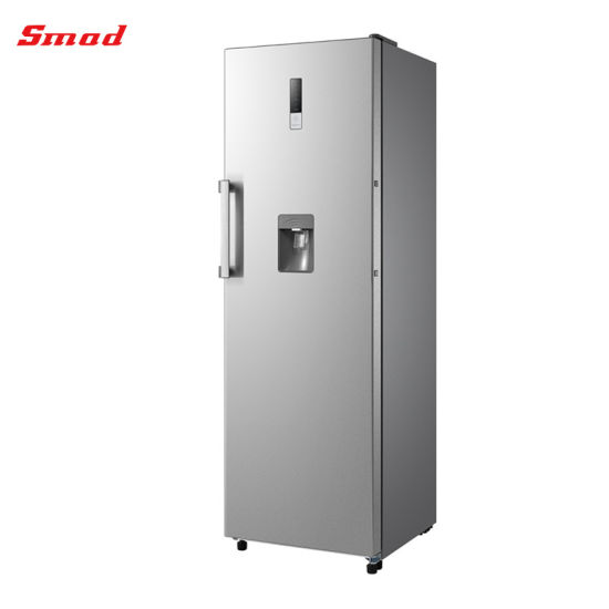 Smad Home 13.8CF Frost-Free Stainless Steel Upright Freezer with UL