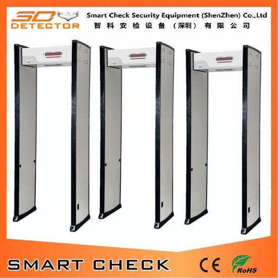 China Single Zone Door Frame Metal Detector Door Outdoor Security ...